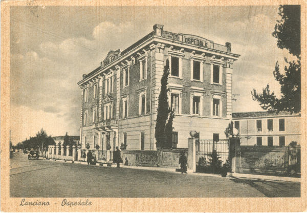 Lanciano - Ospedale 1955